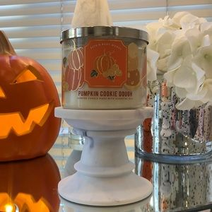 New Pumpkin Cookie Dough 3 wick candle from BBW
